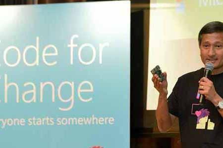 IDA and Microsoft partnership brings 'Code for Change'