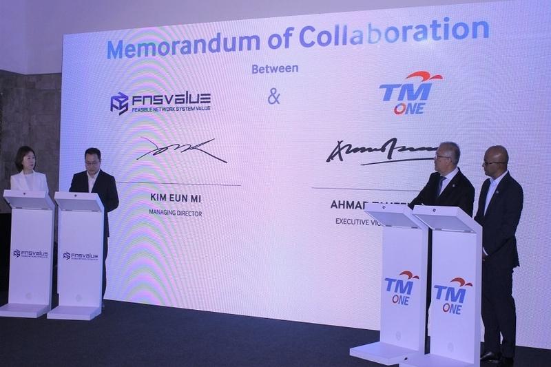 Malaysian Telecom Partners Korean Blockchain Company