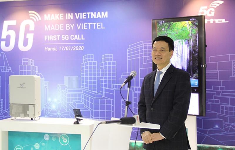 Vietnam First 5G Video Call